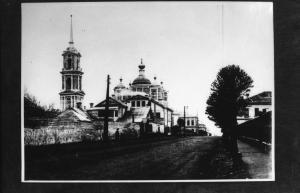 Ф. Р-2380. Оп. 2. Д. 550 Владимирская церковь с колокольней в г. Твери. Вид со стороны Косой Новоторжской.jpg