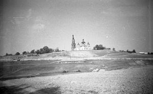 Ф. Ф-1. Оп. 1. Д. 1686.  Воскресенская церковь с колокольней в селе Сулега.jpg