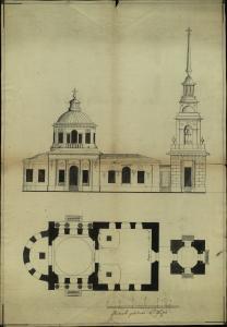 Ф. 103. Оп. 1. Д. 2839 Чертеж неизвестн церкви.jpg